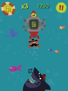 Plug & Boom aiming high, like Chili Crab and his torpedo.