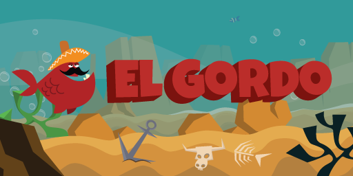 Our main character, El Gordo.