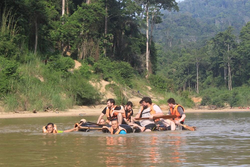 Rafting com os amigos da IMGNATION